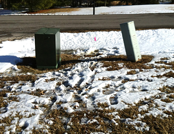 private property utility easement