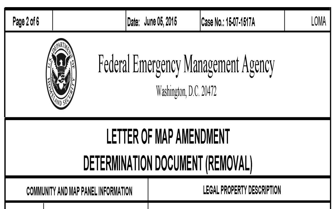 FEMA LOMA Approval – How Long Does It take?