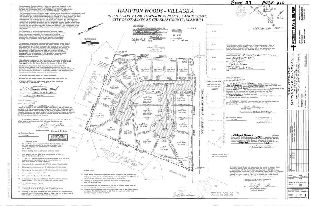 Subdivision Plats – What Do They Tell Us? | Cardinal Surveying